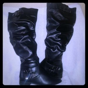 Bnib Nordstroms Womens knee high leather boots